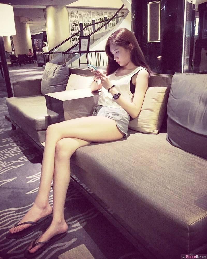 网店老板娘Jocelyn,甜美颜值逆天长腿,一秒就恋爱