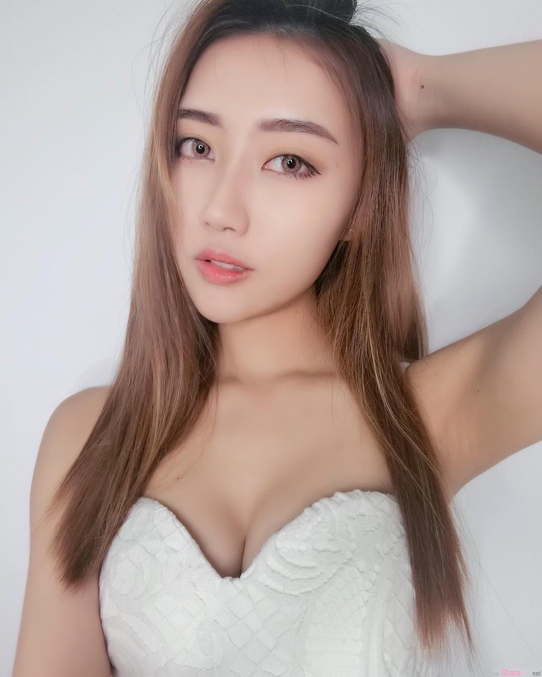 大马正妹陈素莹Reiiko,美丽性感代言人
