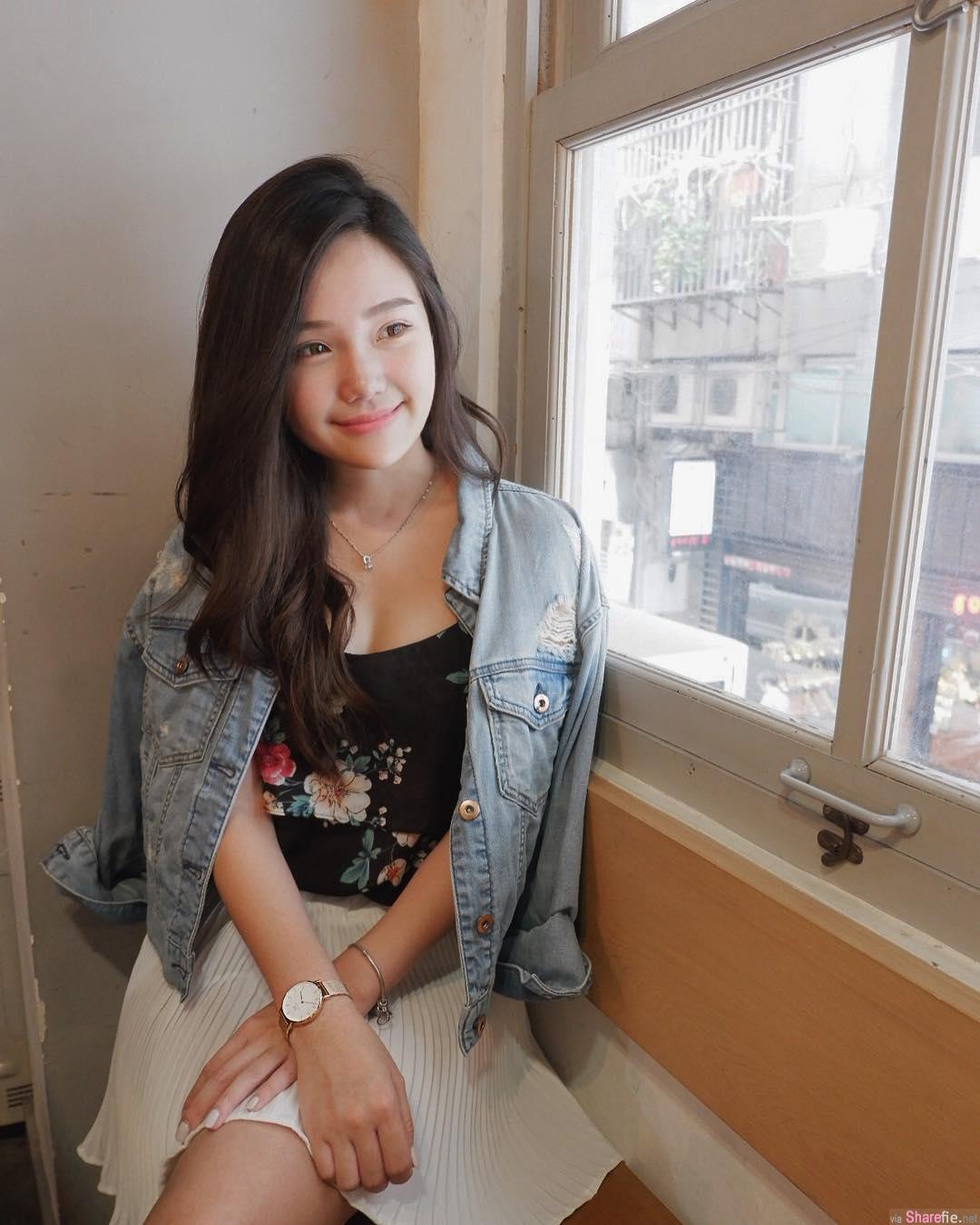 大马正妹Pui Ying,甜甜淡淡的微笑最迷人