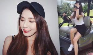 大马正妹Crystal Foong,高颜值明星脸,深沟超迷人