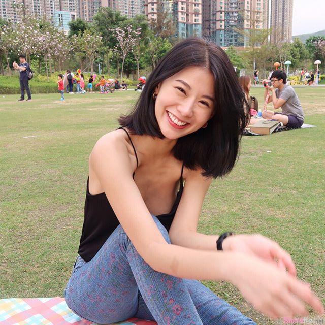 阳光正妹Ayu,笑容甜美气质迷人