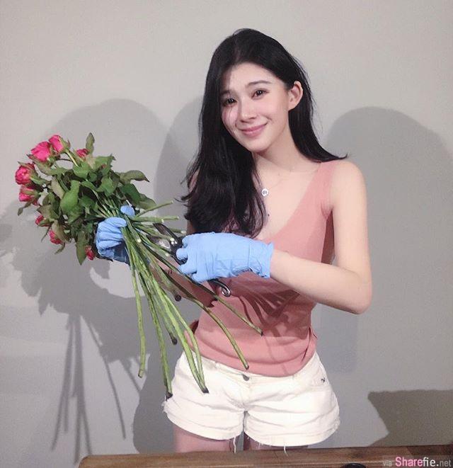 花艺正妹老师Sophia Hsieh 网:突然想学插花