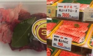 他逛日本超市发现每包冷冻牛肉里都放了一片绿色叶子,网友专业解答:不是保鲜用的