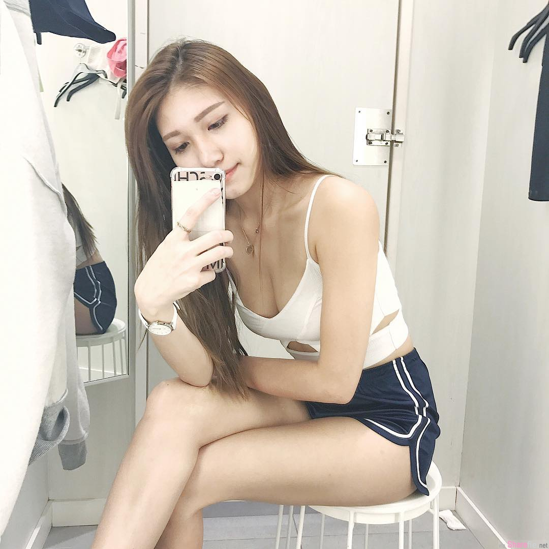 大马正妹Mimi Chen,性感S曲线