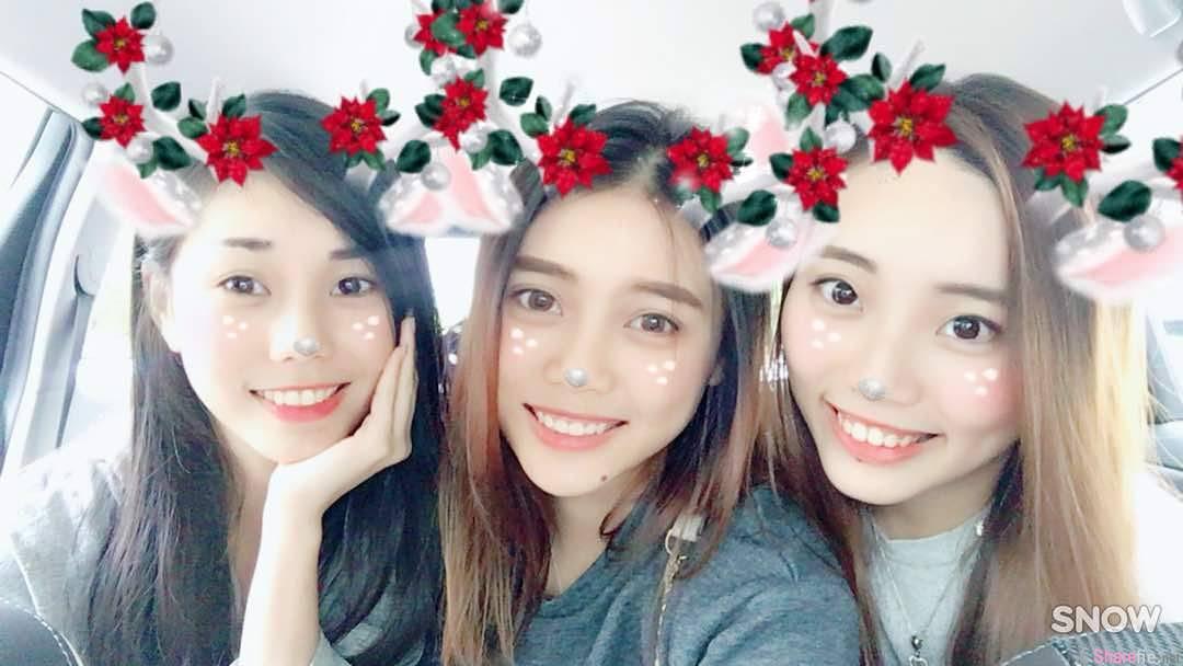 大马三姐妹花,三个笑容一样美