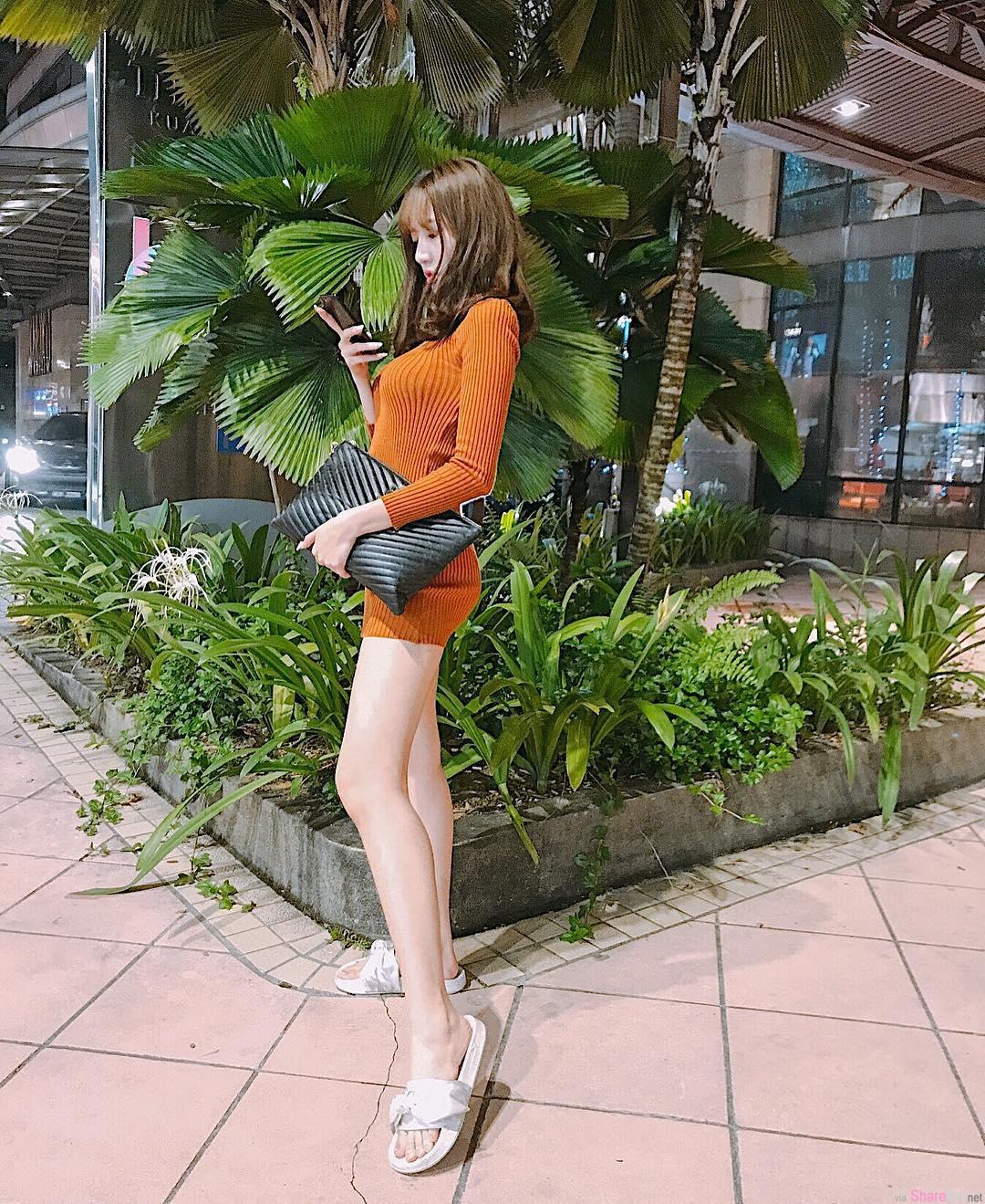 大马正妹Yvette Tan,美腿诱惑