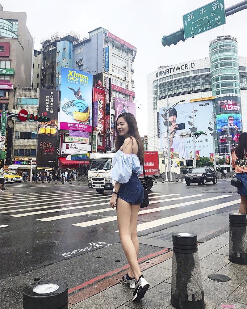 大马正妹Jacqueline Ng,百看不腻的修长美腿