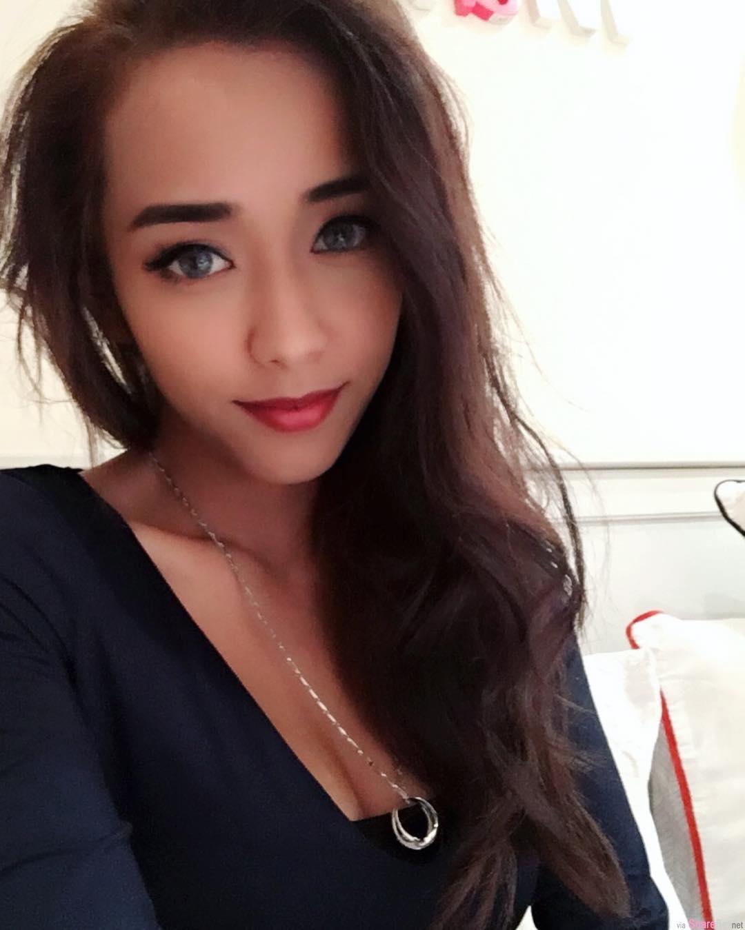 大马正妹美姐蔡美霆,绝美脸蛋魔鬼般身材