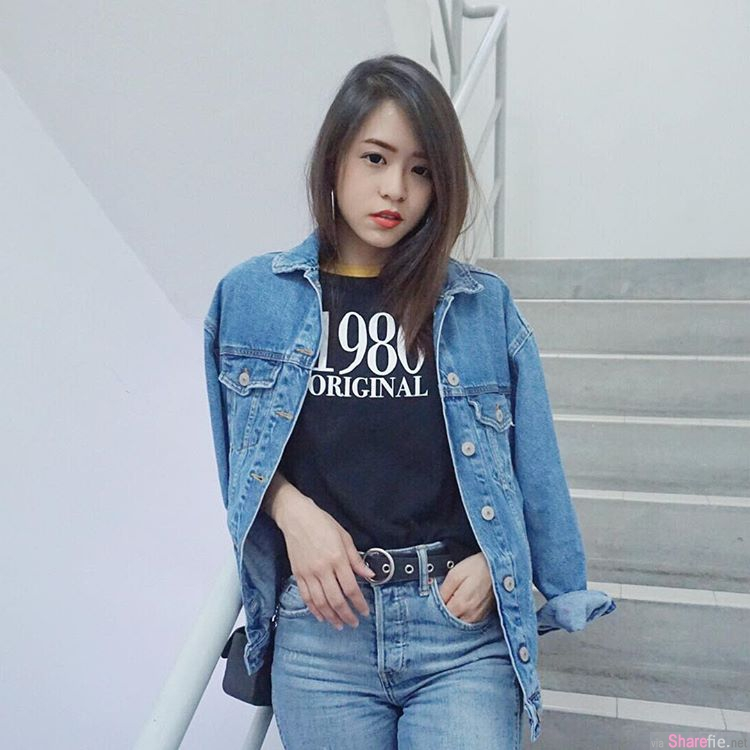 大马KL正妹Stephanie Wong,长髮迷人