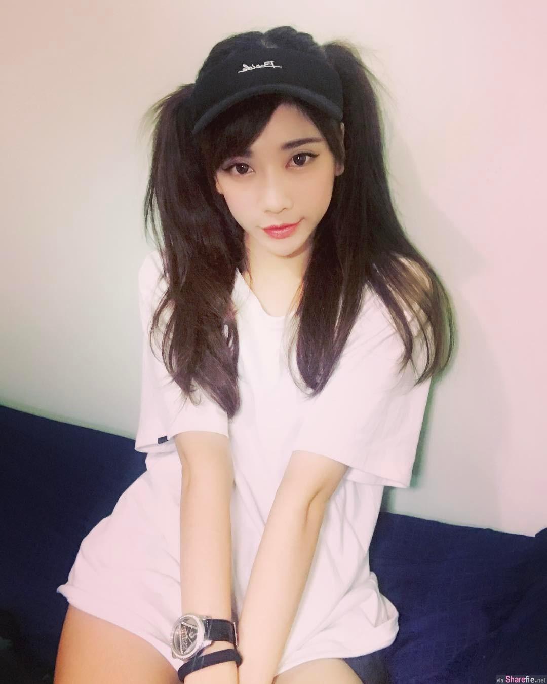 台湾正妹,甜美脸蛋IG粉丝竟然有...