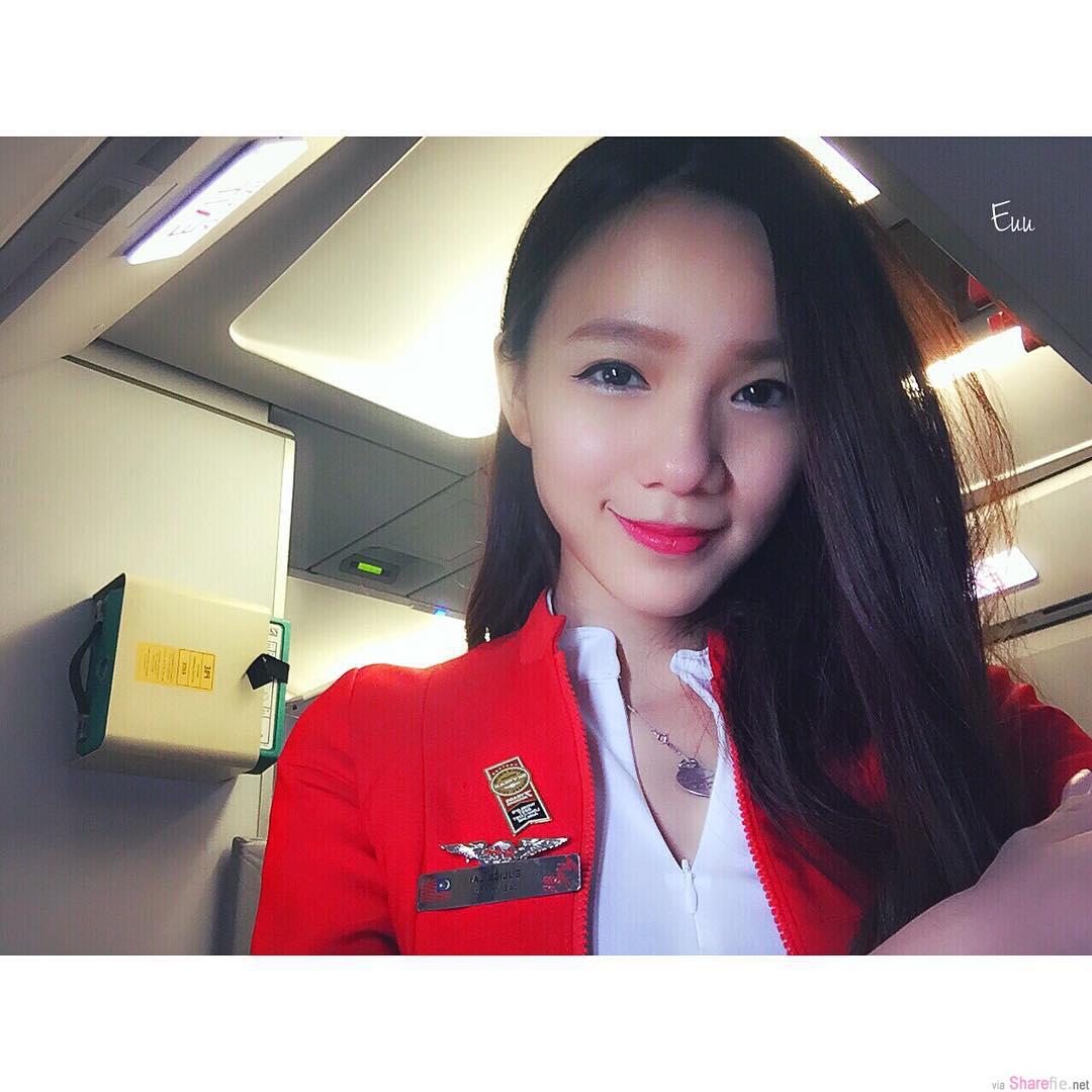 大马空姐正妹Eulise Lai,甜美可爱