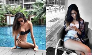 新加坡正妹Zyi ,拥有她世界变彩色