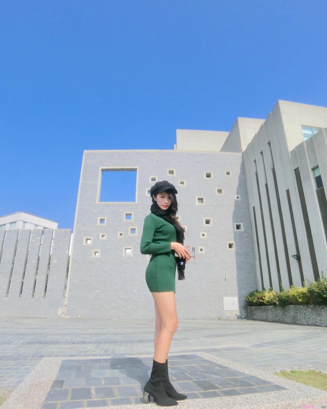 台湾正妹林珈伊,性感中空大开,网:这件衣服真的完美呈现你的好身材