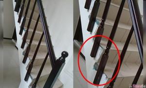 楼梯扶手竟悬空!网友傻眼PO文引起「专业网友」这样回答