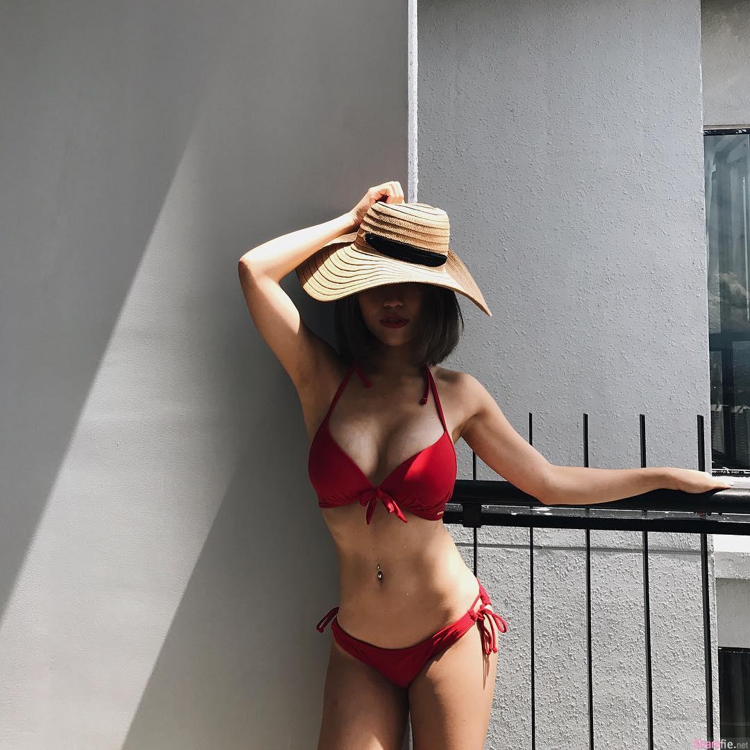 大马正妹Karen Kho,超辣健身女神,网友想报名