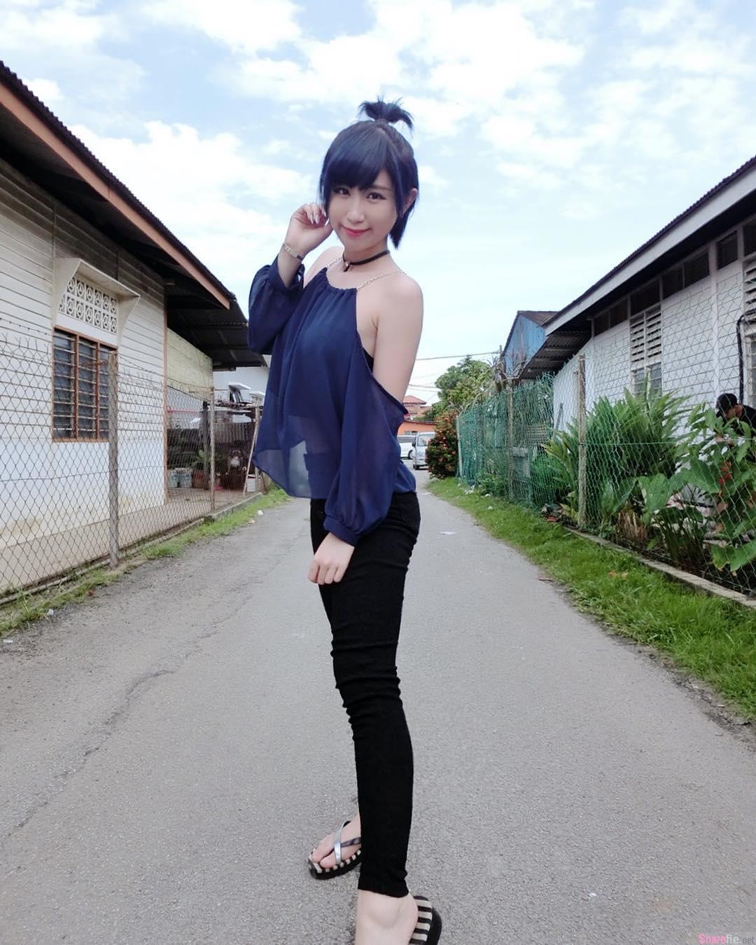 大马正妹李佩怡,白皙长腿气质迷人