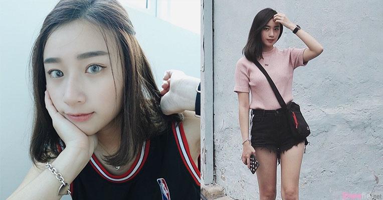 大马正妹Vivian Chin,精緻脸蛋气质迷人