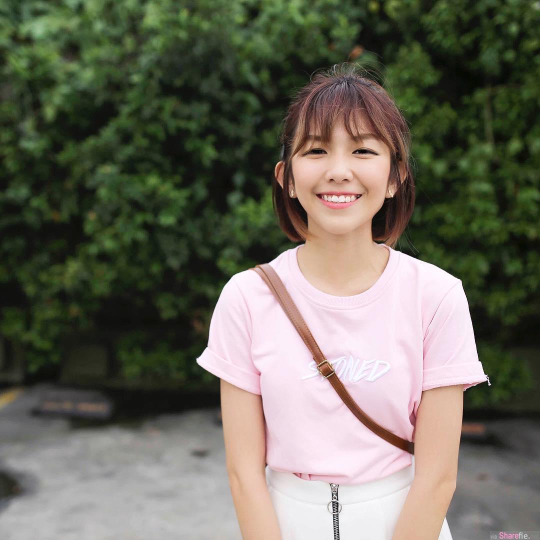 大马短发正妹Emily Yin,娇小甜美