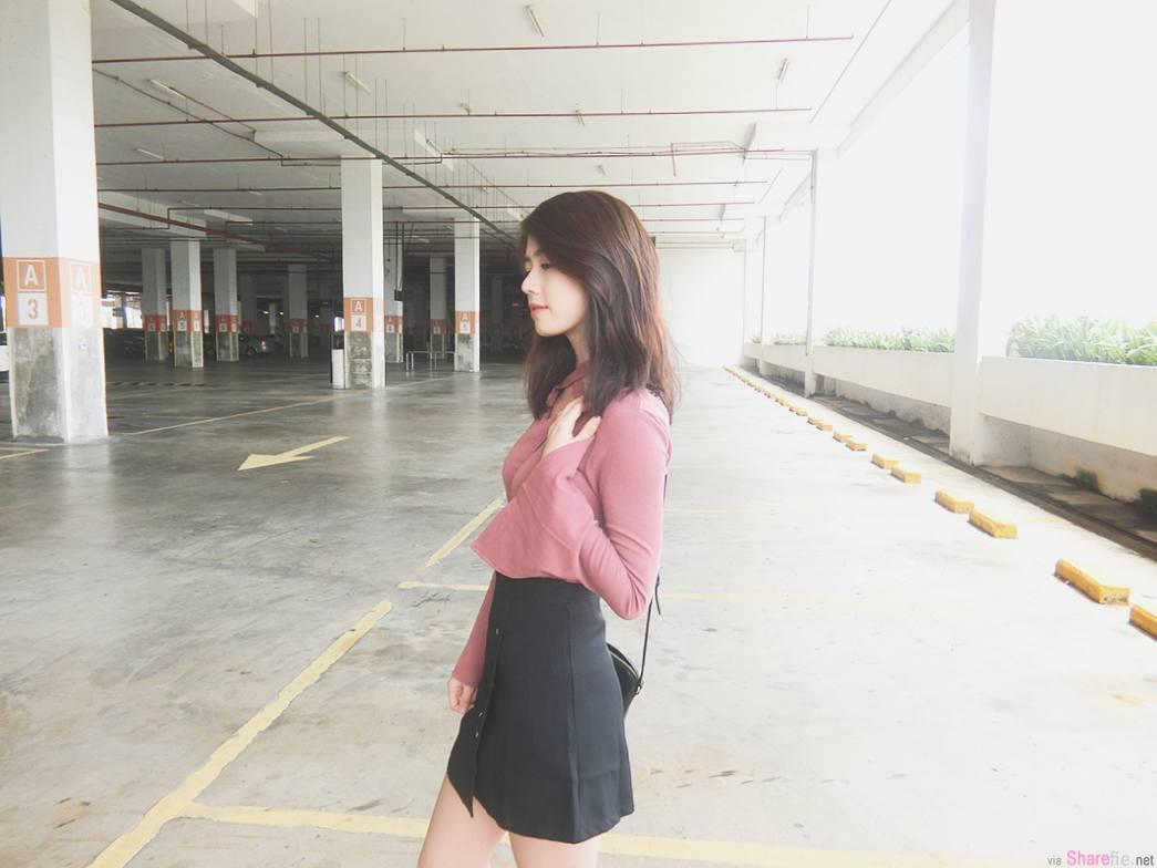 大马正妹陈炜林,甜美笑容暖化人心