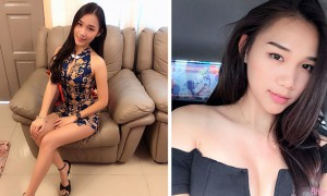 大马正妹Angel Chin,新年穿超美旗袍全家合照正翻网友