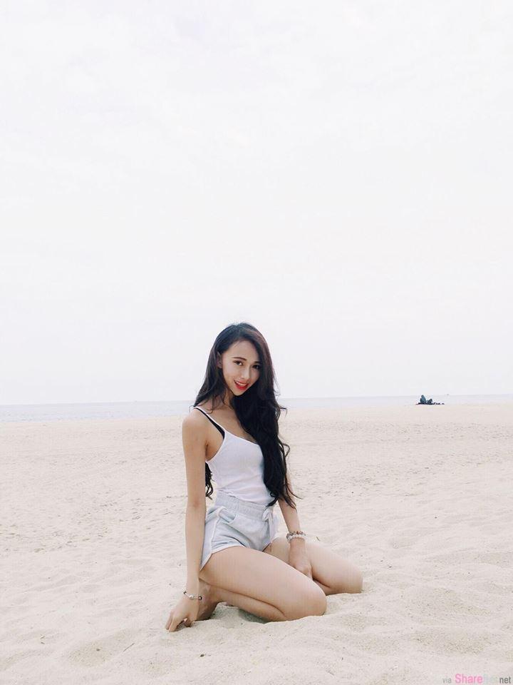 大马车模Amy Chg,逆天长腿