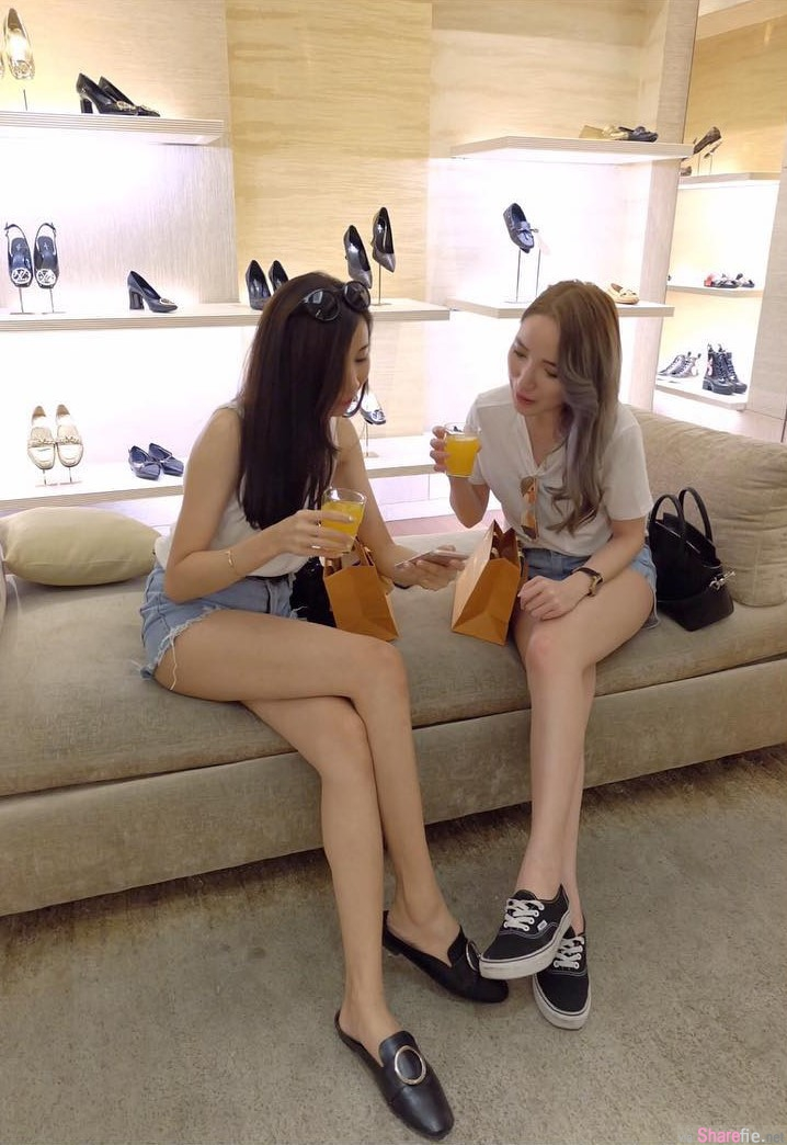 大马美腿正妹Lemon Kim,清新甜美超正身材,网友恋爱了