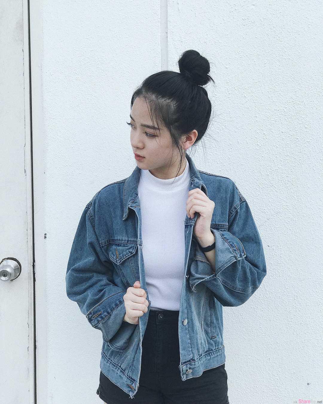 大马正妹Sharon Lim,超正五官逆天长腿,气质超过100分