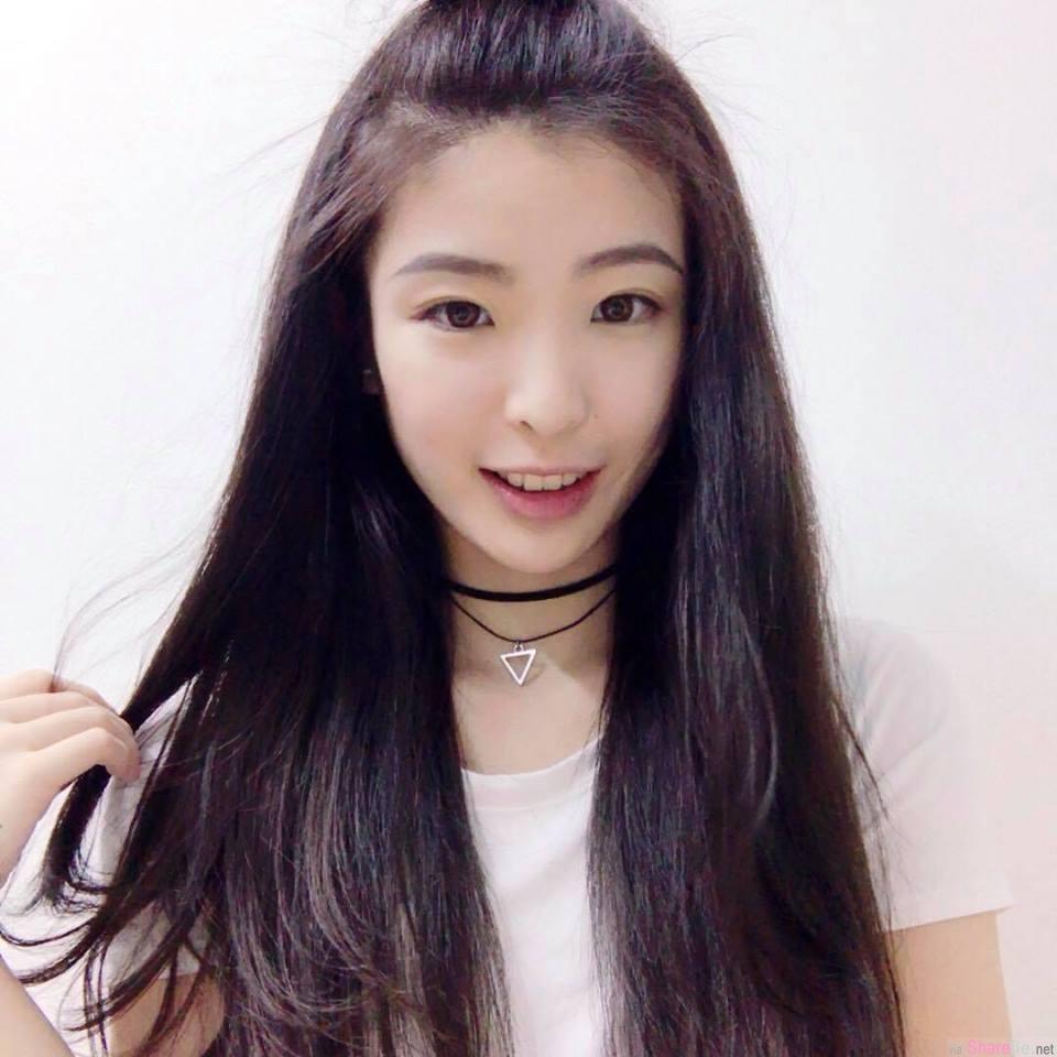 大马正妹JenLi,长髮飘逸甜美笑容完全让人融化