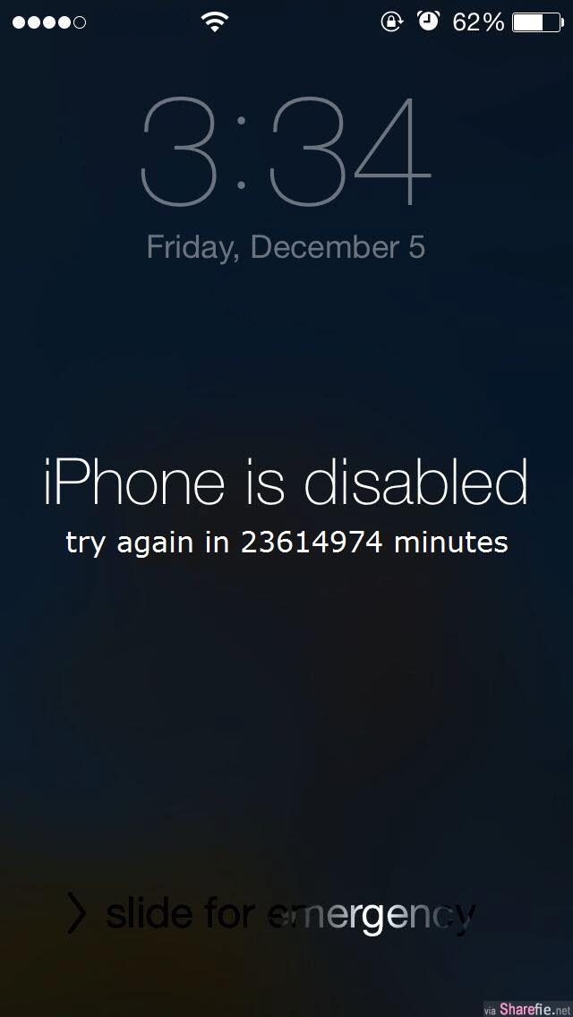 家长注意!孩子乱按密码iPhone被锁机47年,专家:可以解救不过...