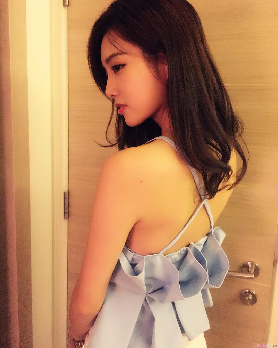 香港正妹Ling Ling,白皙小清新