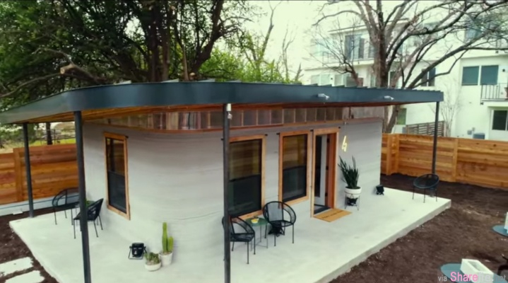 3D列印的房子真的出现了?这间舒适的房子只要「12个小时」就能打造出来