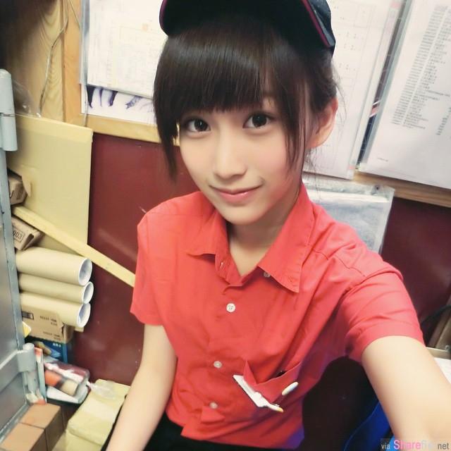 台湾正妹麦当劳之花张楚珊