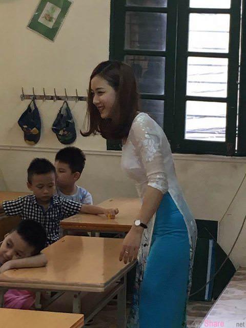 儿子的小学老师长这样,爸爸暴动抢接孩子放学