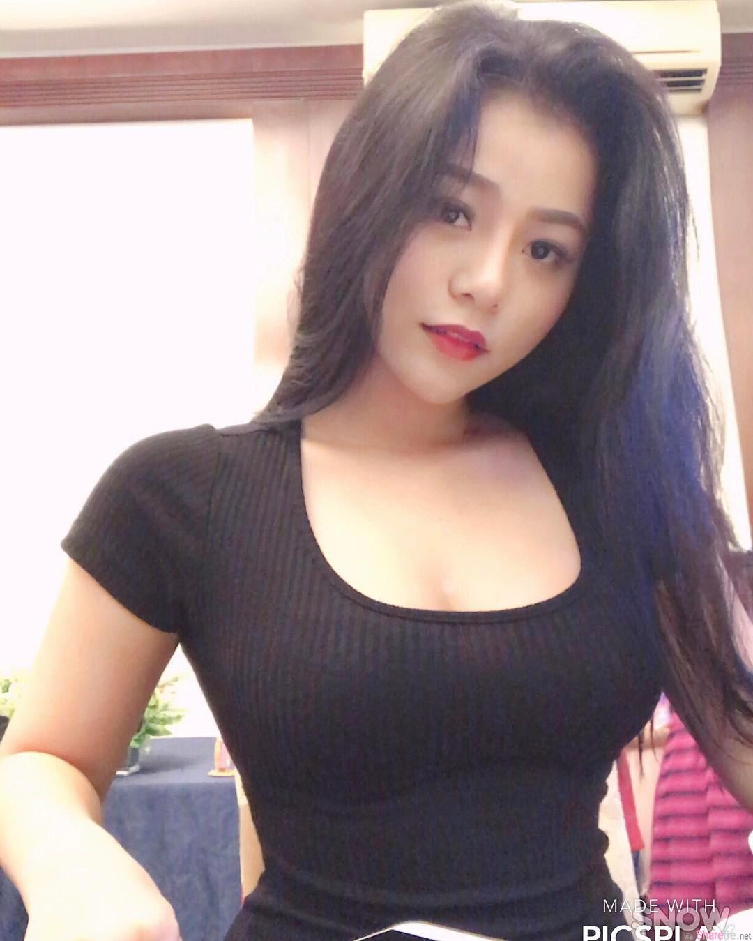 越南正妹,不科学乳量网友全暴动