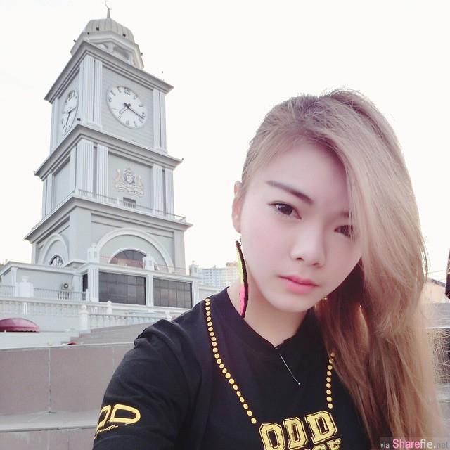 大马舞蹈系正妹Xiao m Hong,青春美少女