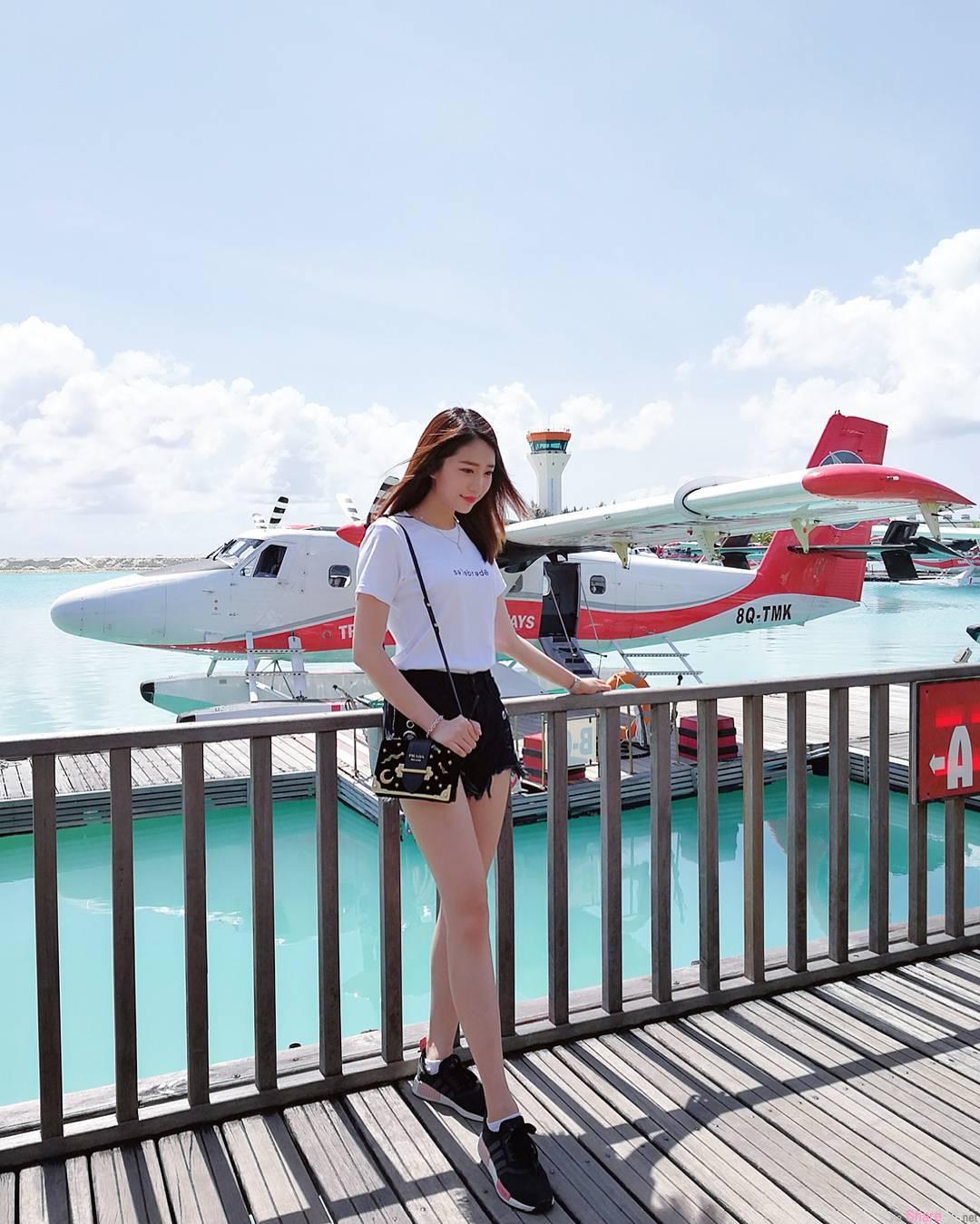 大马正妹空姐Jennifer Kaixin,遇见你是最美丽的邂逅
