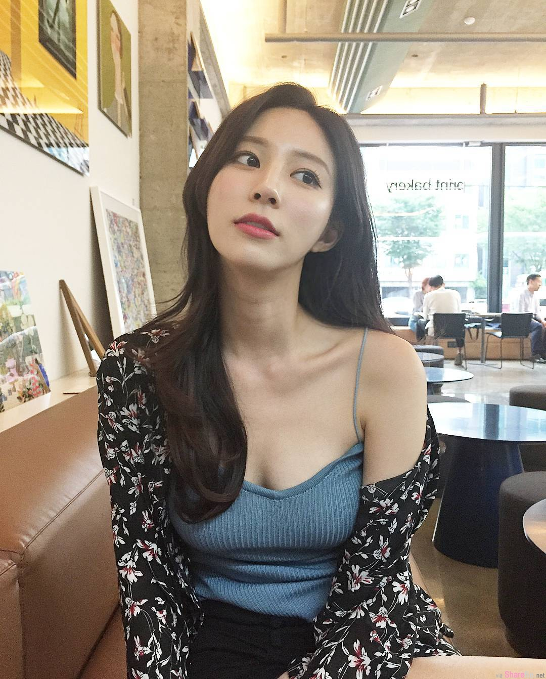 韩国正妹脸蛋超迷人,要胸有胸,要翘臀有翘臀