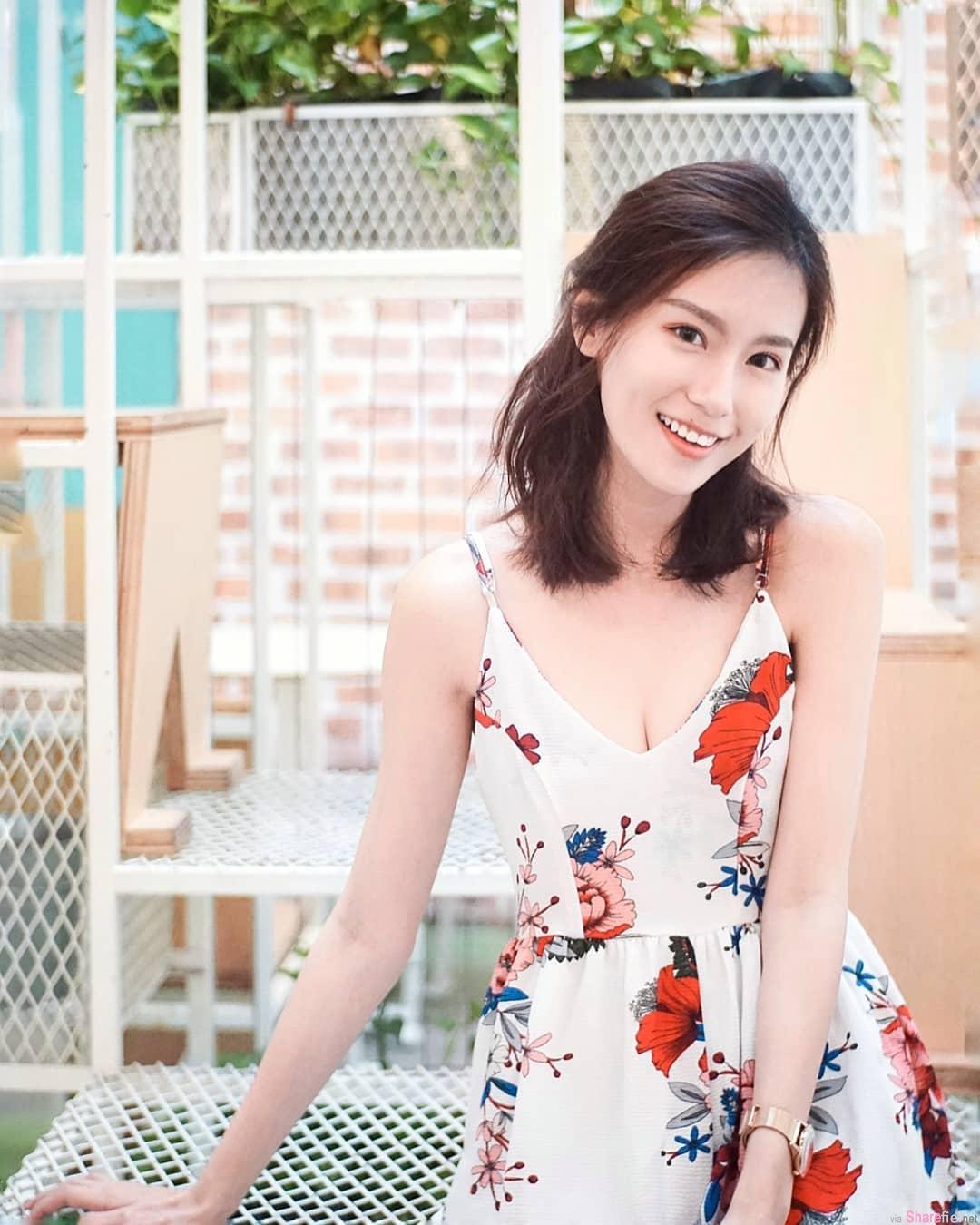 大马骨感正妹刘恺欣,气质好迷人
