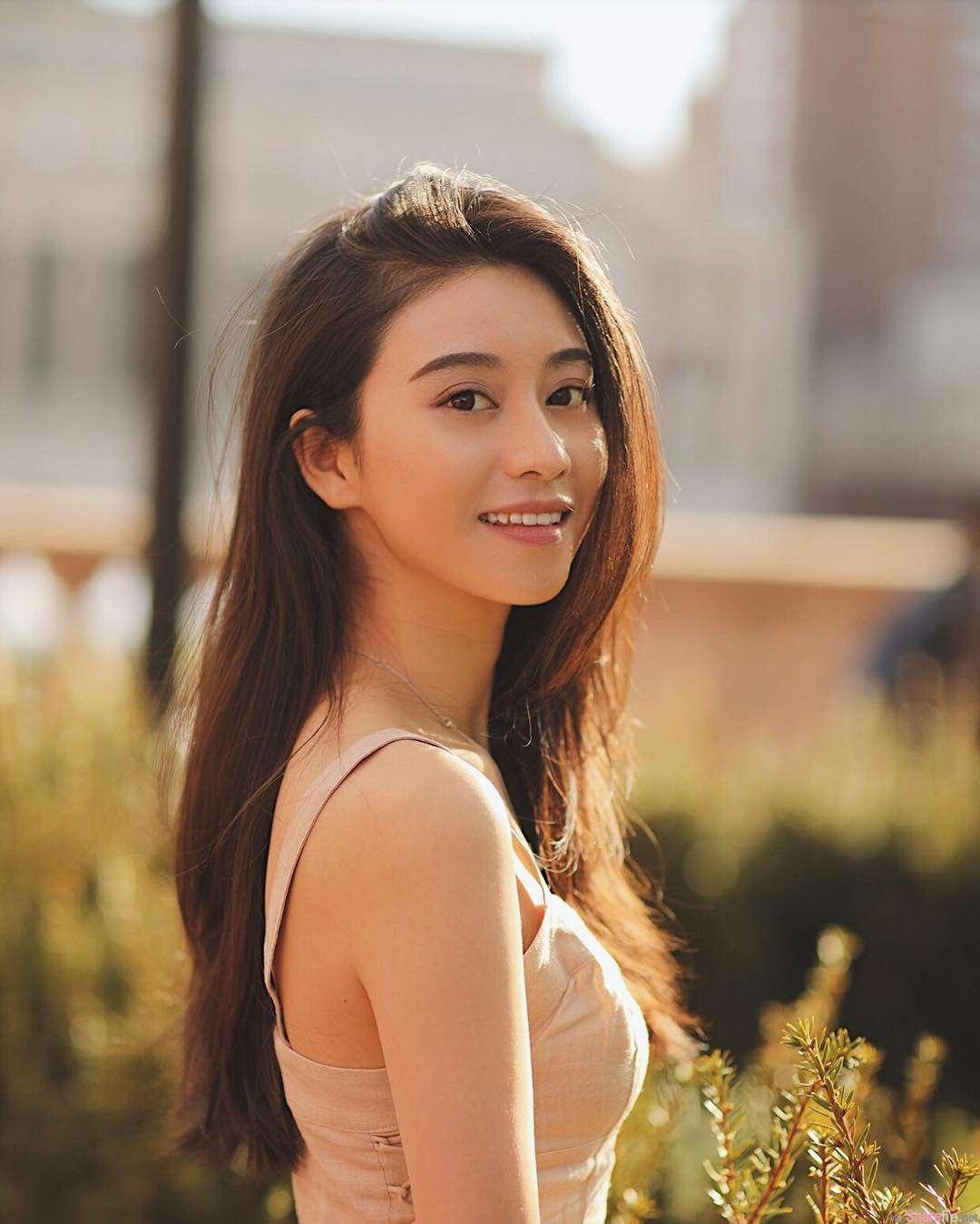 留美正妹Maple Liu,美到炸裂!