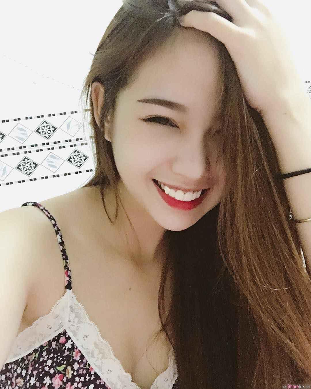 越南正妹MyMy,浴袍深V超性感