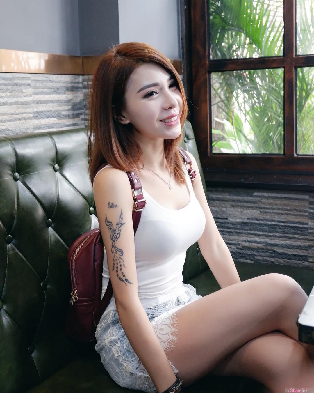 大马正妹陈姝莹,健身展现骄人曲线