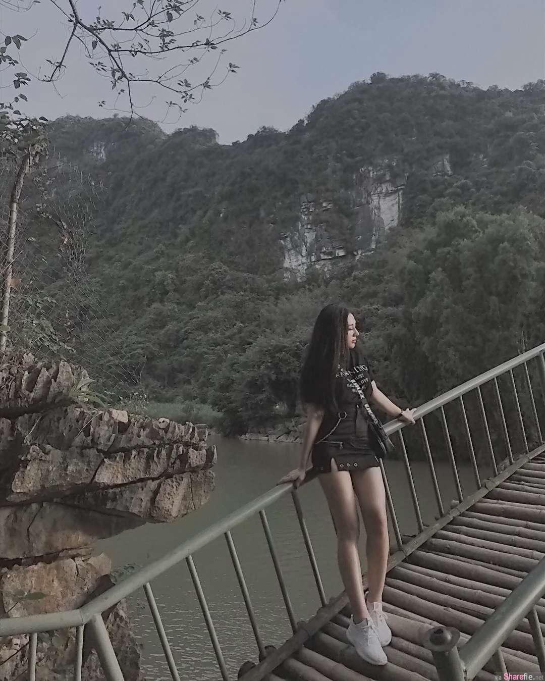 越南正妹,甜美身材无懈可击