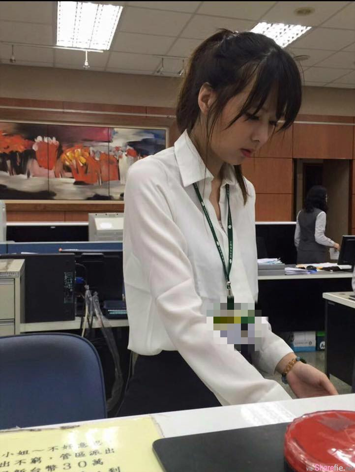 超正银行女职员被网友搭讪:想在妳这里存放我的心,正妹神回打脸