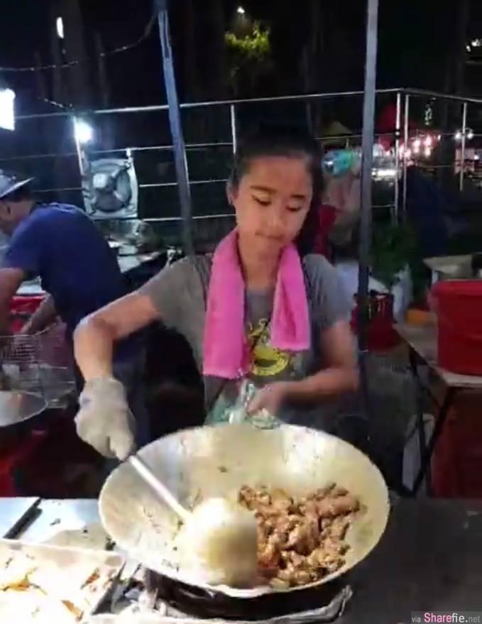 大马13岁「咸蛋小妹妹」捷豹林直播她炒咸蛋鱼皮,吸引万人追看