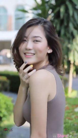 泰国正妹拍MV,连身短裙身材让人受不了