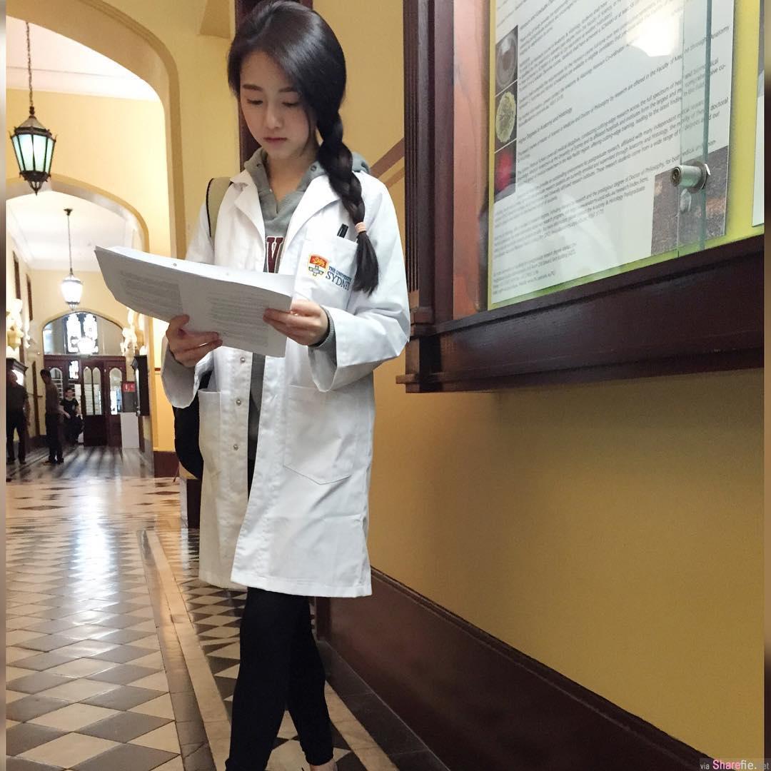 台湾最正女医生!美貌与智慧兼具