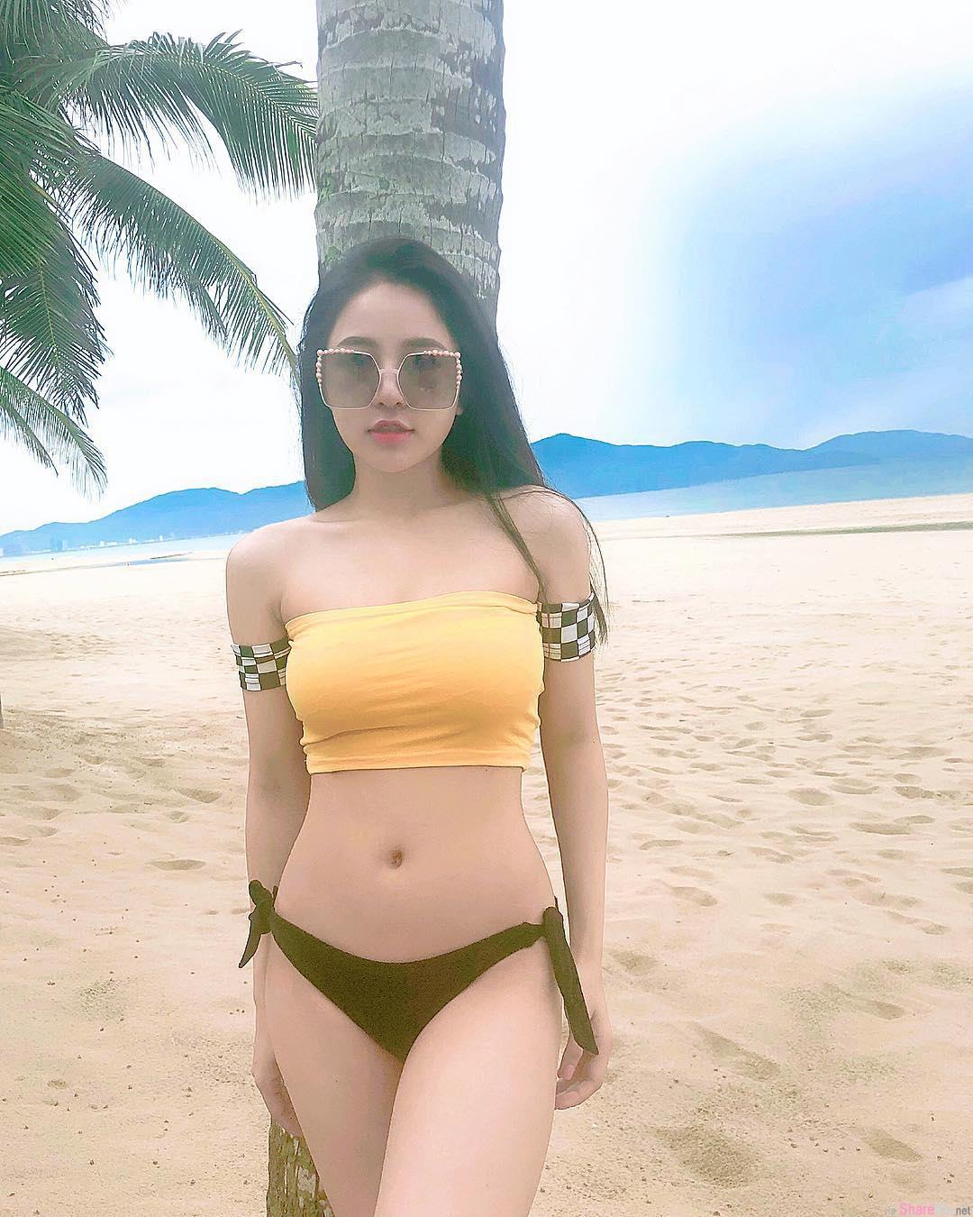 越南正妹药剂师,甜美脸蛋完美好身材