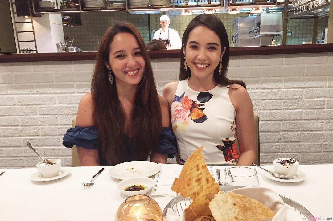 大马混血美姐Brynn & Tracey ,双胞胎姐妹花解放傲人身材