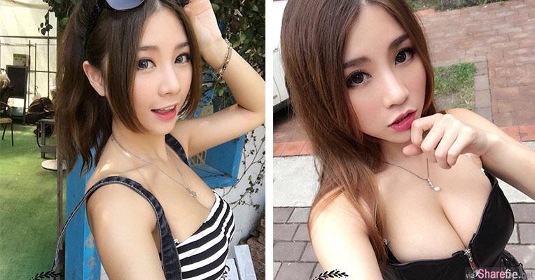 台湾正妹姿含,带长辈一起出门