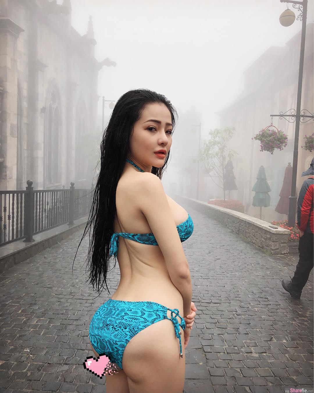 越南网红奶妹,乳不惊人誓不休
